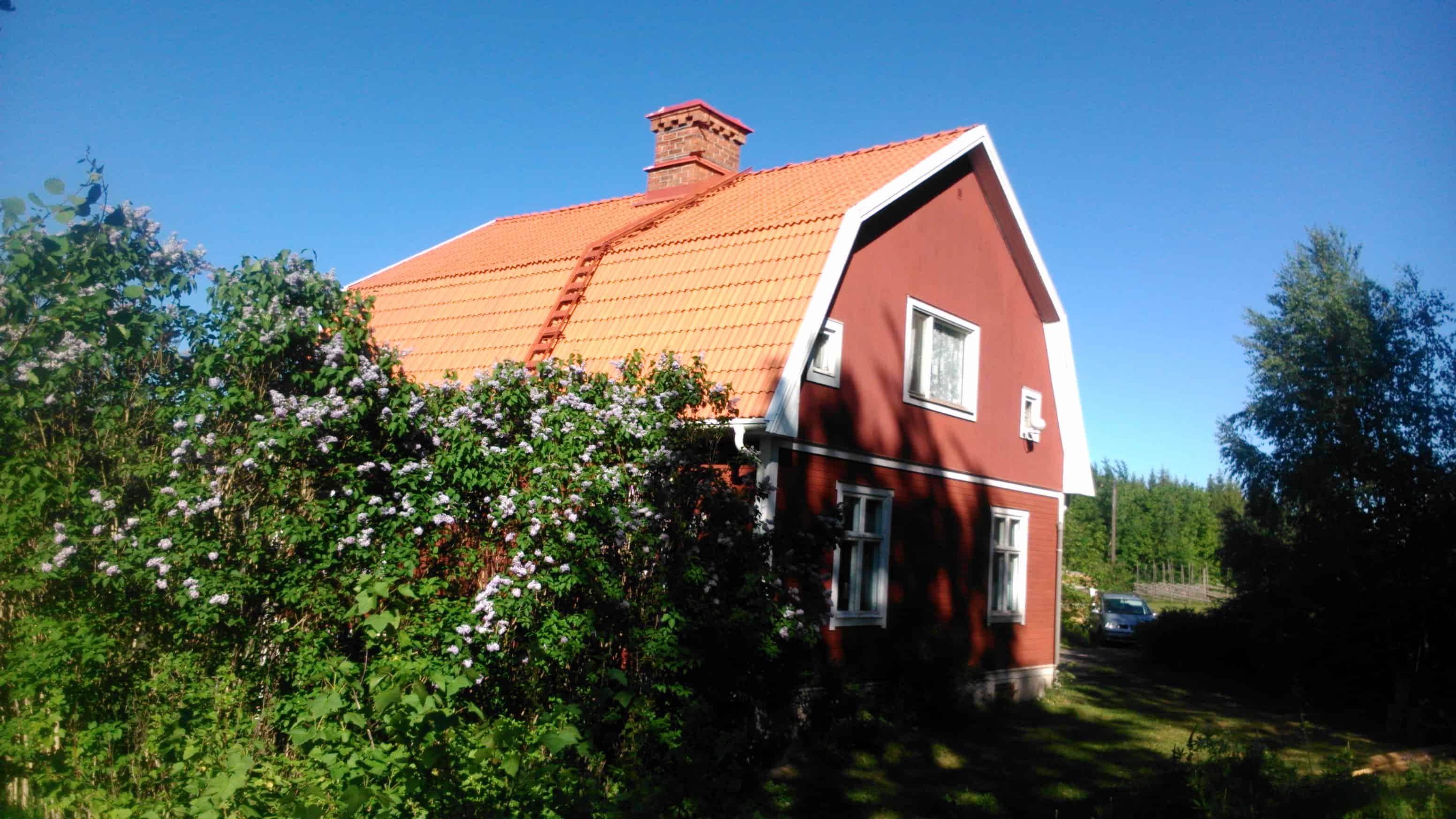 "Referensjobb ""Byte tak"" utfört av Trimex AB"