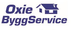 Logotyp för Oxie ByggService