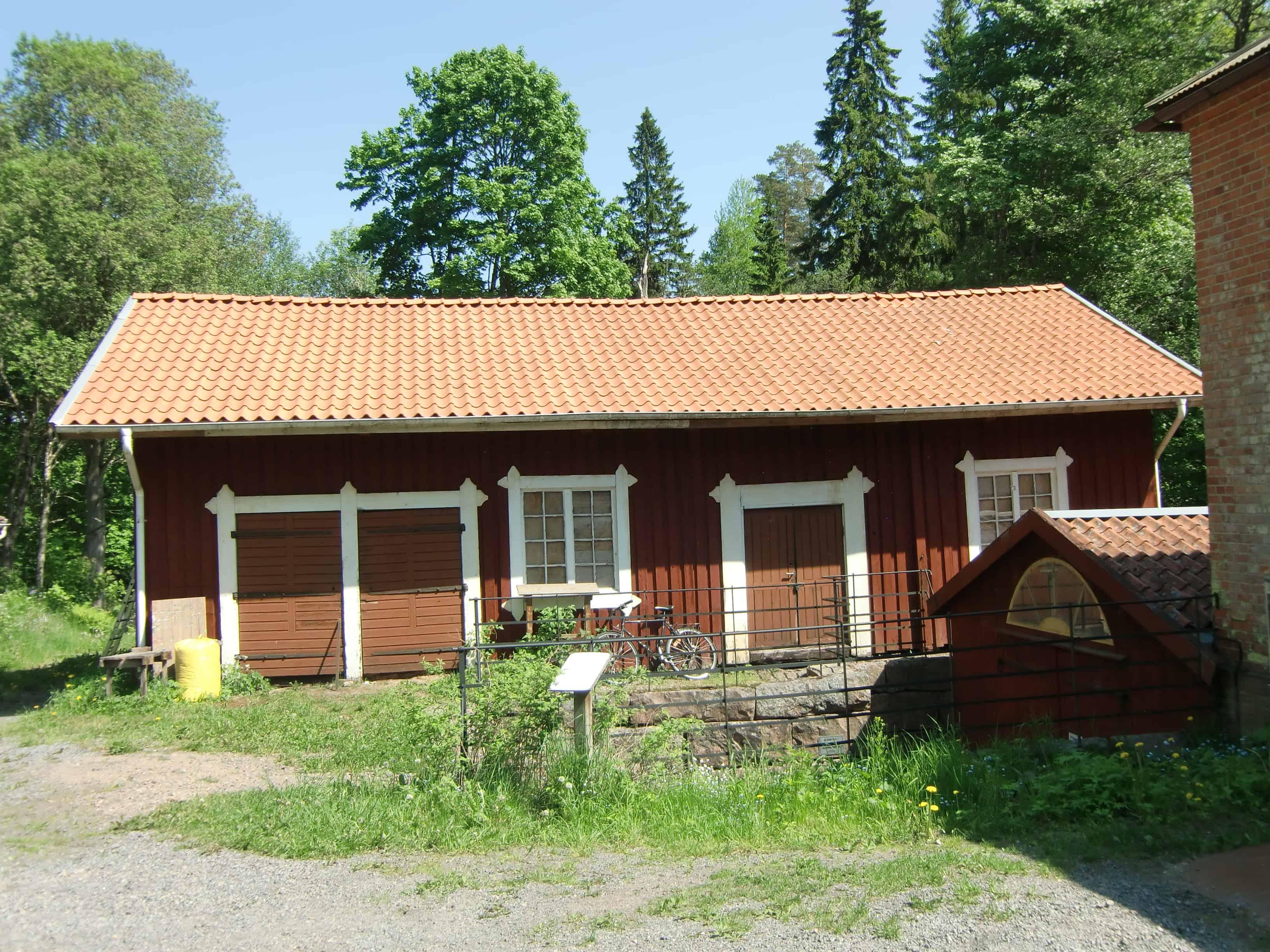 """Referensjobb """"Takomläggning på snickeriet Ryfors"""" utfört av Mikael Fogelbergs Byggnadsfirma i Mullsjö"""