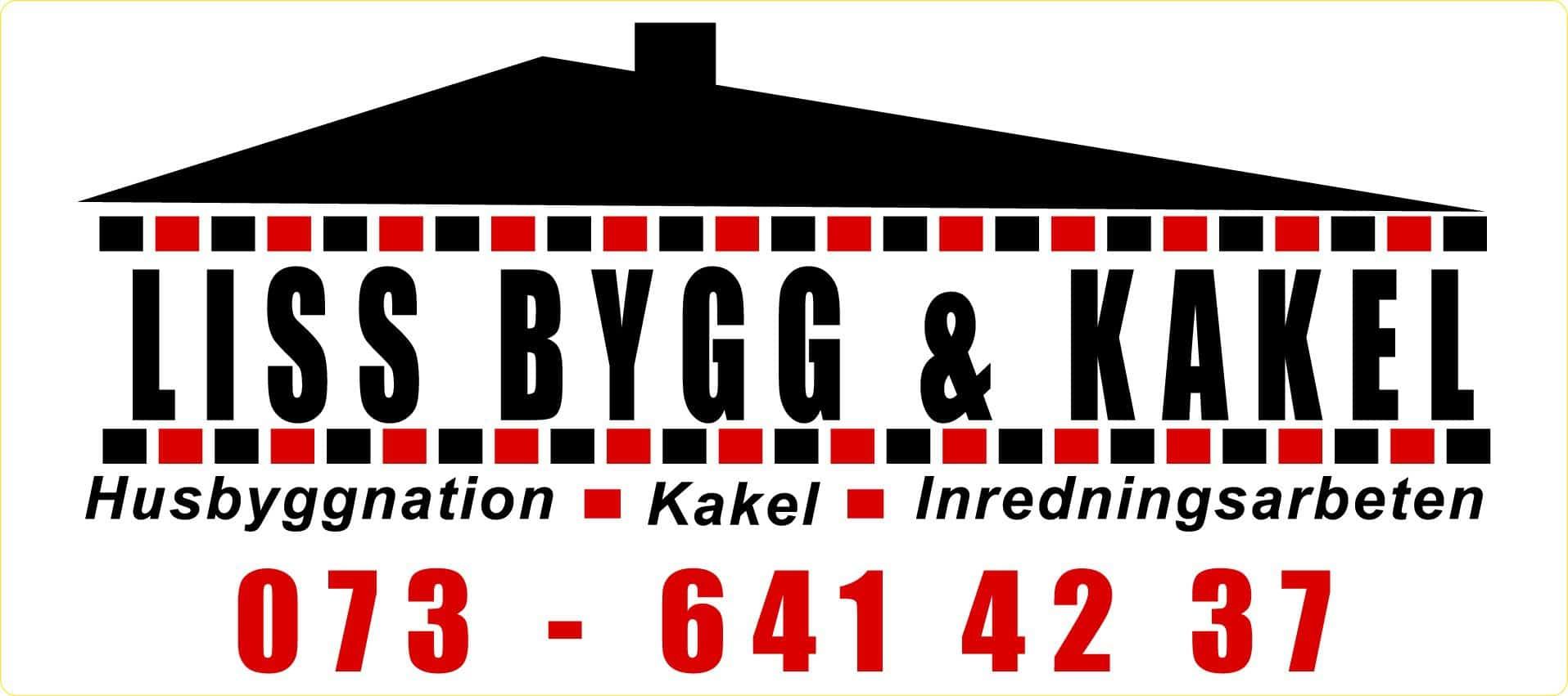 Logotyp för Liss Bygg & Kakel AB
