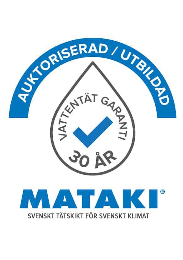 """Referensjobb """"Mataki."""" utfört av AB Nymans Tak"""