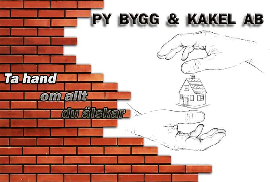 Logotyp för PY Bygg & Kakel AB