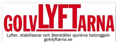 Logotyp för Golvlyftarna i Sverige AB