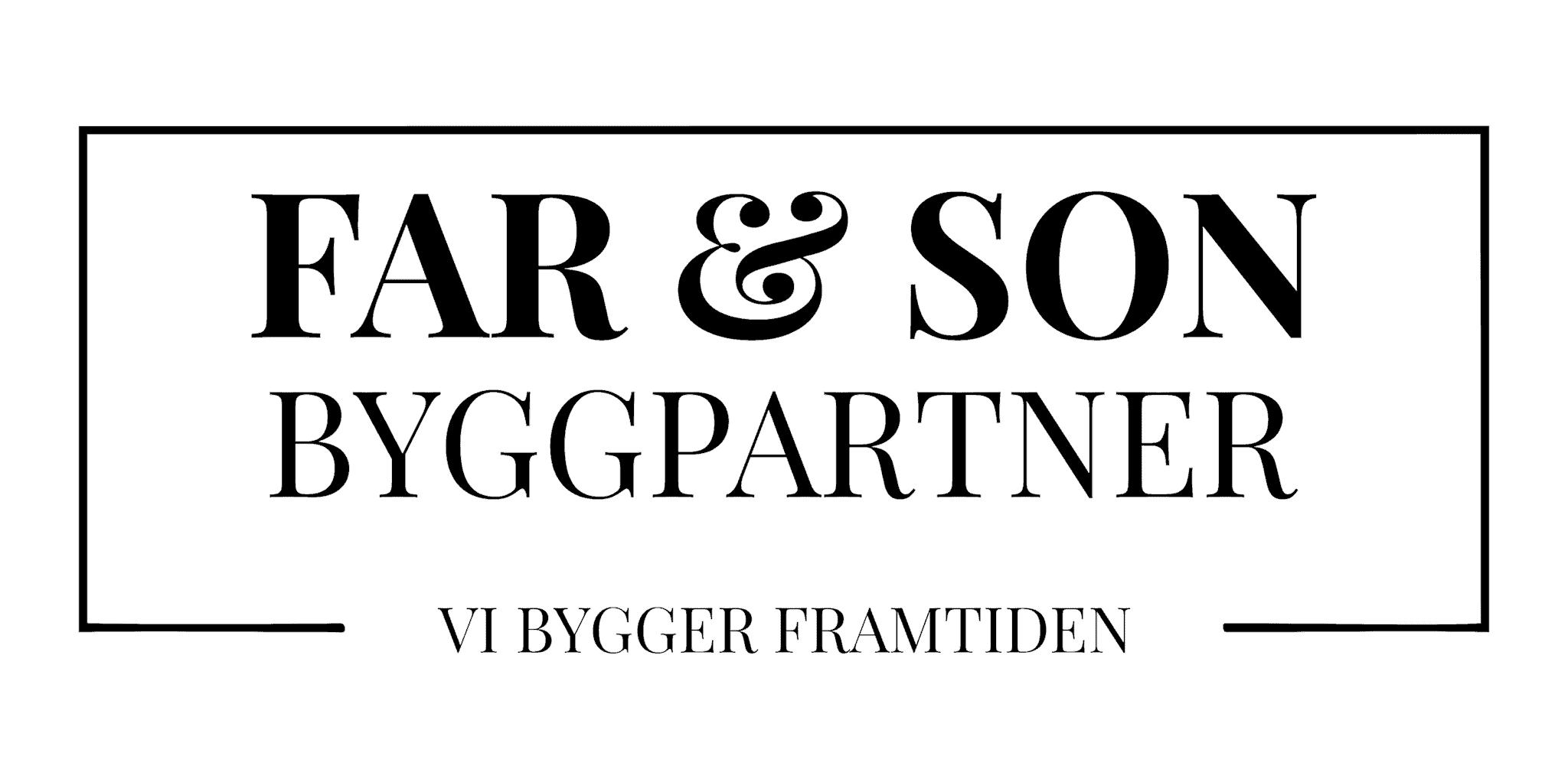 Logotyp för F & S Byggpartner AB