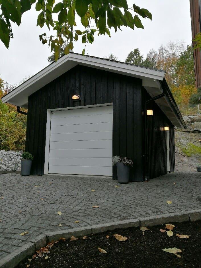 """Referensjobb """"Garage Mölndal 2016"""" utfört av Kungs - Bo Bygg AB"""