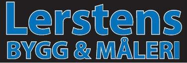 Logotyp för Lerstens Bygg & Måleri