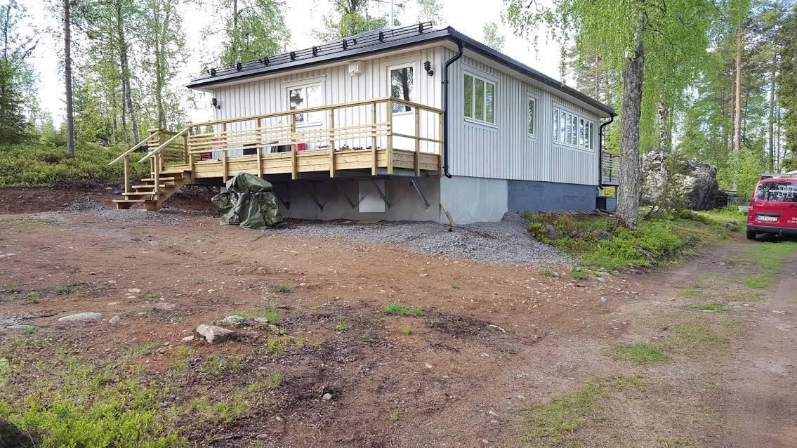 """Referensjobb """"Sommarstuga"""" utfört av Hantverkartjänster I Norrbotten"""