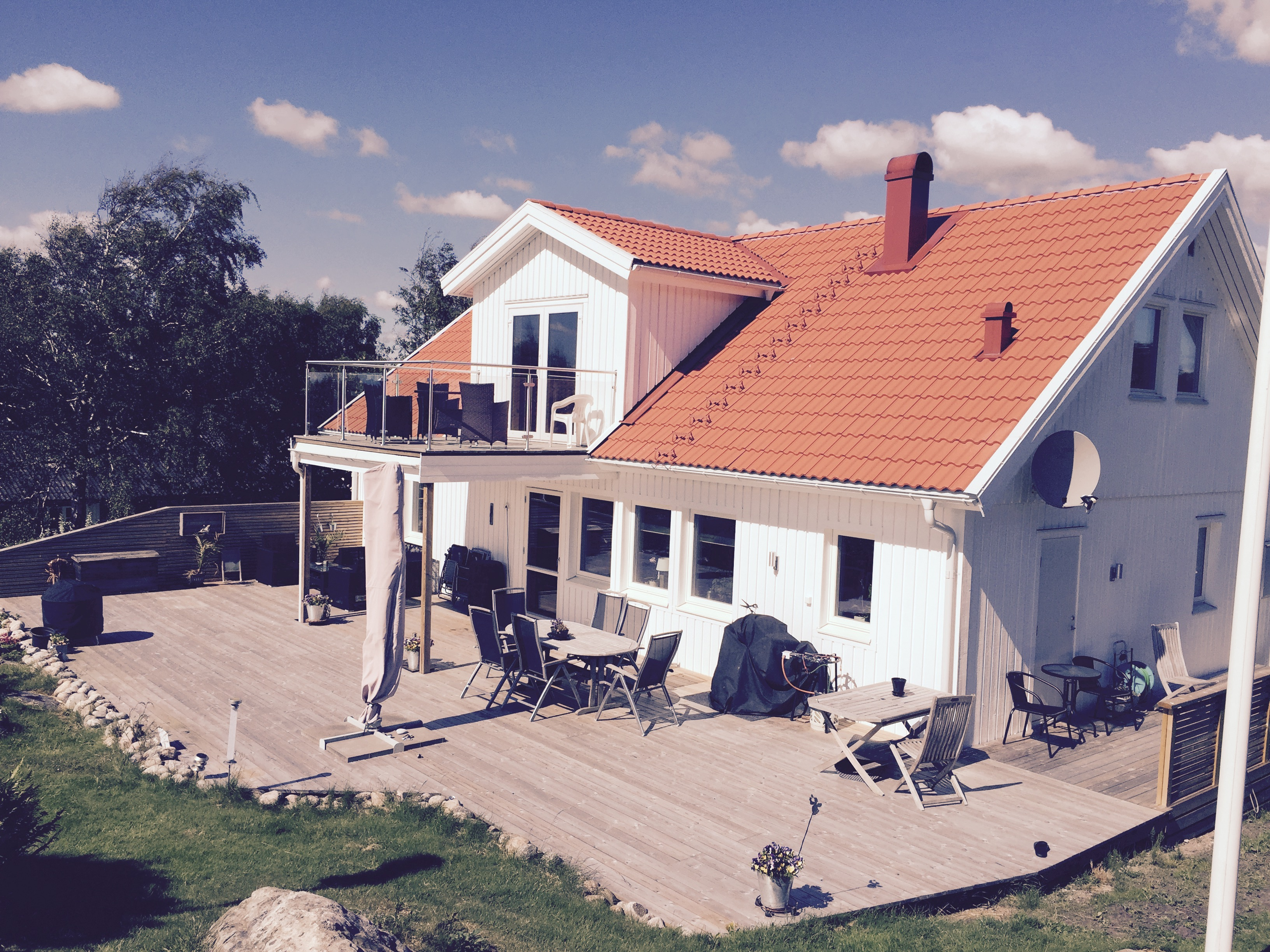 """Referensjobb """"Villabyggnation"""" utfört av Niclas Wisén Byggnads AB"""