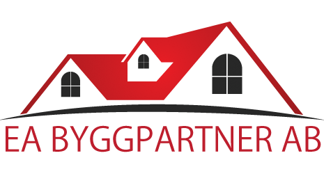 Logotyp för EA Byggpartner AB