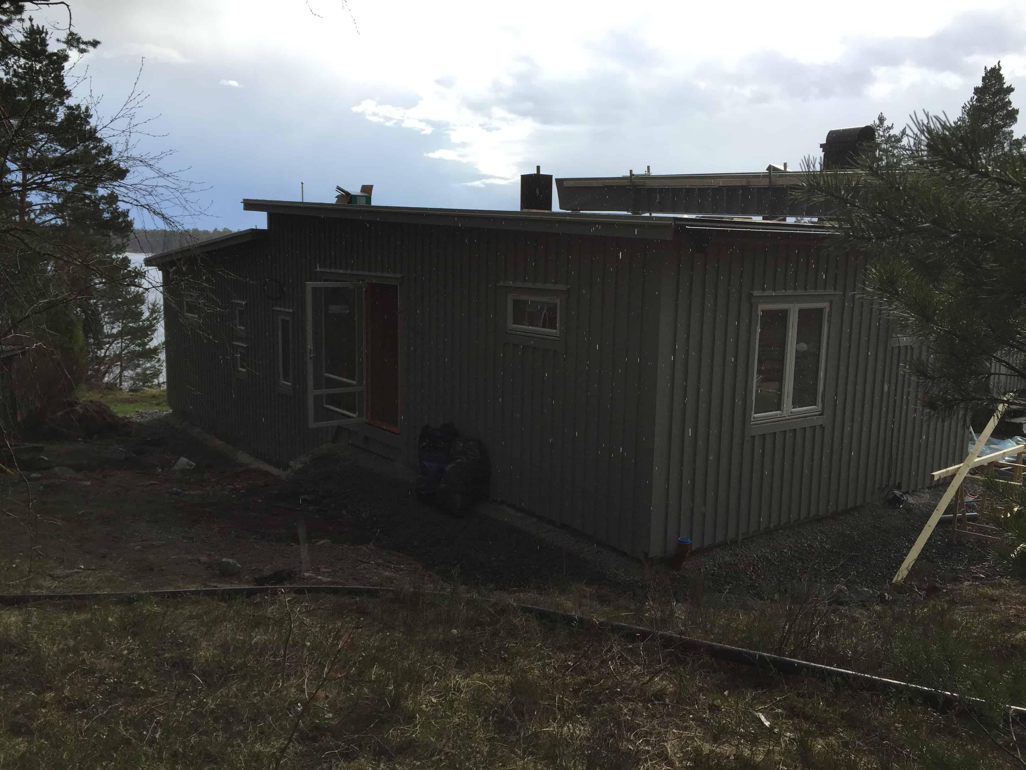 """Referensjobb """"Färdigt hus Vindö"""" utfört av BRUAB AB"""
