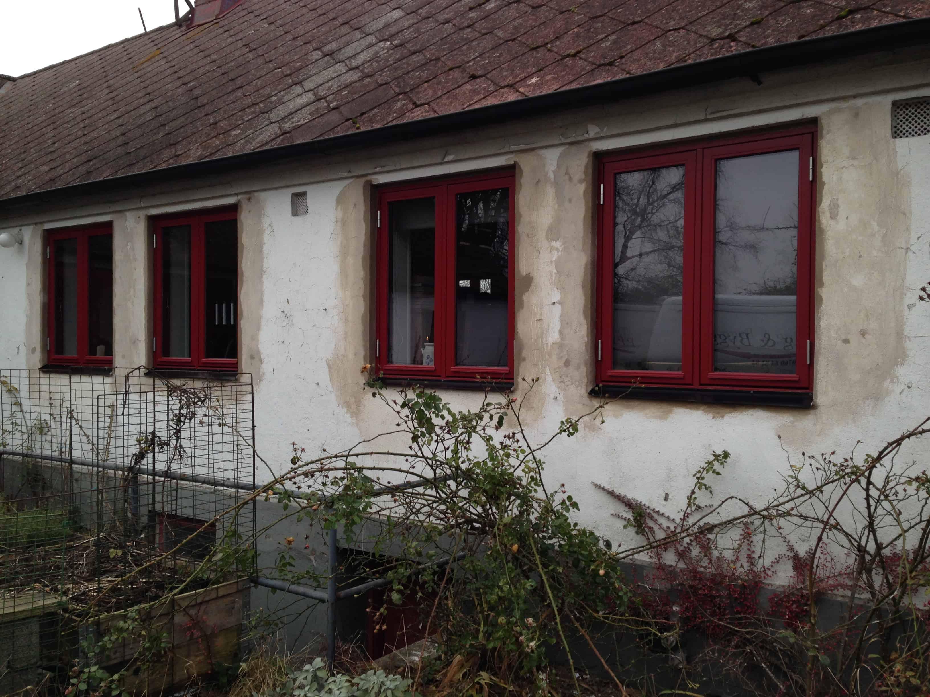 """Referensjobb """"Fönstermontage """" utfört av PP Renovering & Bygg AB"""
