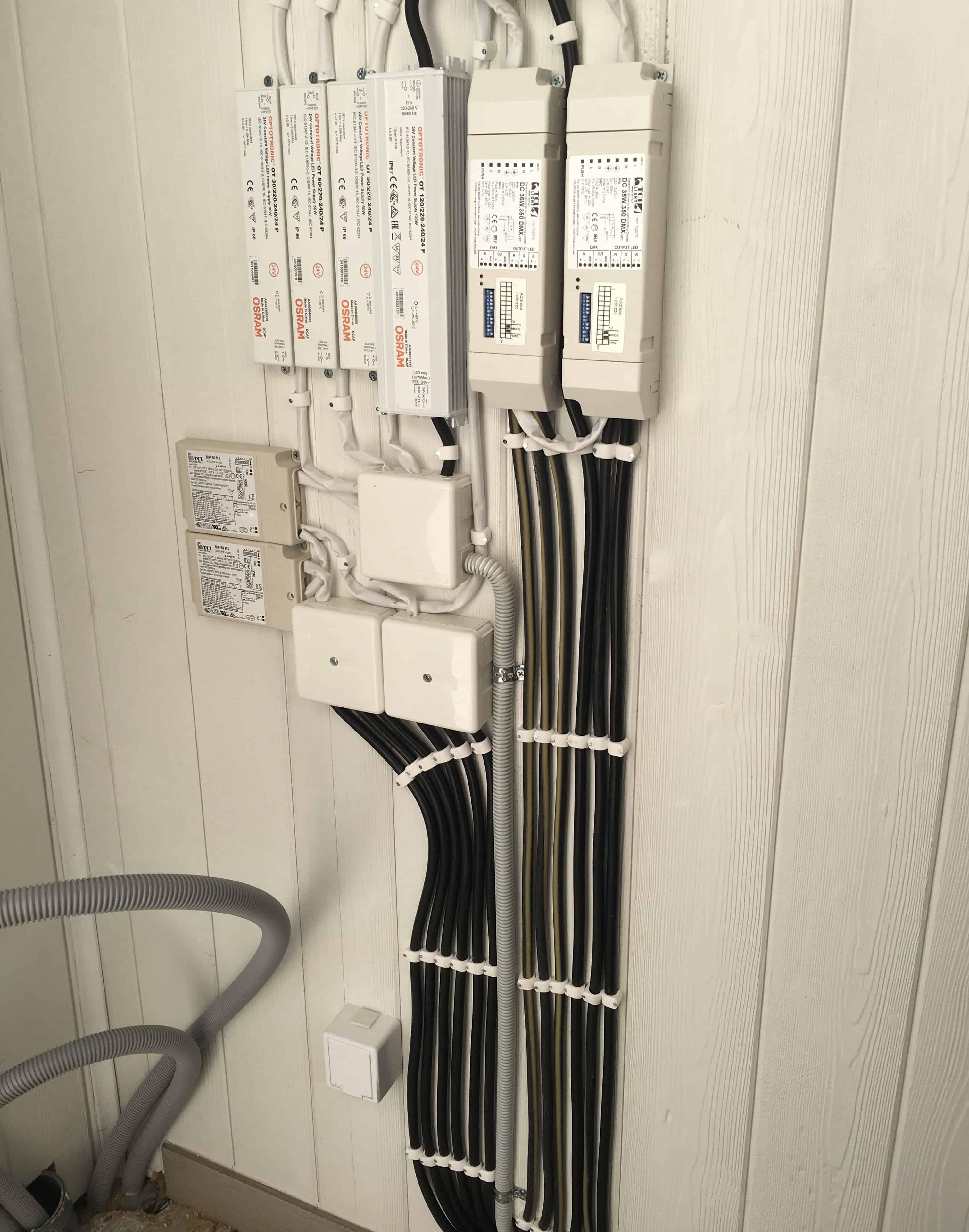 """Referensjobb """"Installation av LED drivdon"""" utfört av Dizons EL AB"""