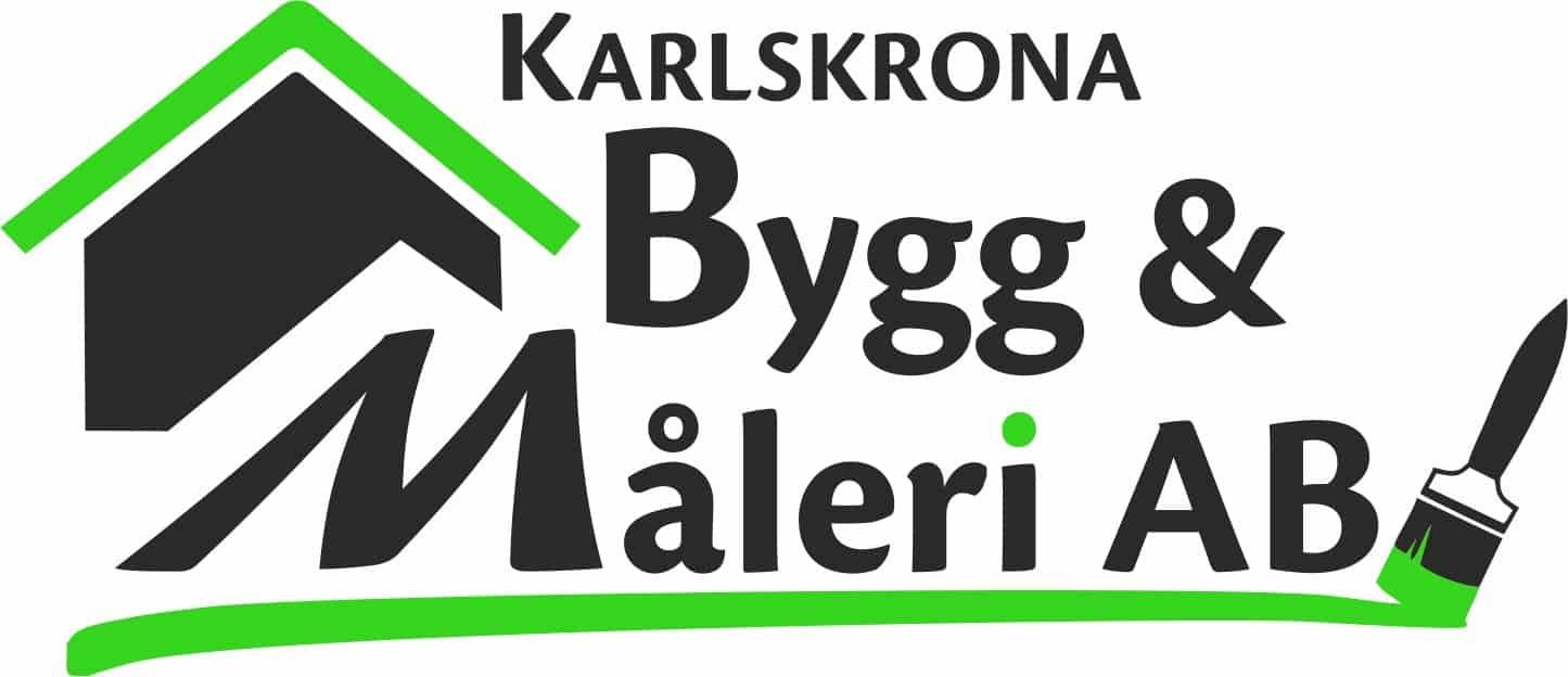 Logotyp för Karlskrona Bygg & Måleri AB