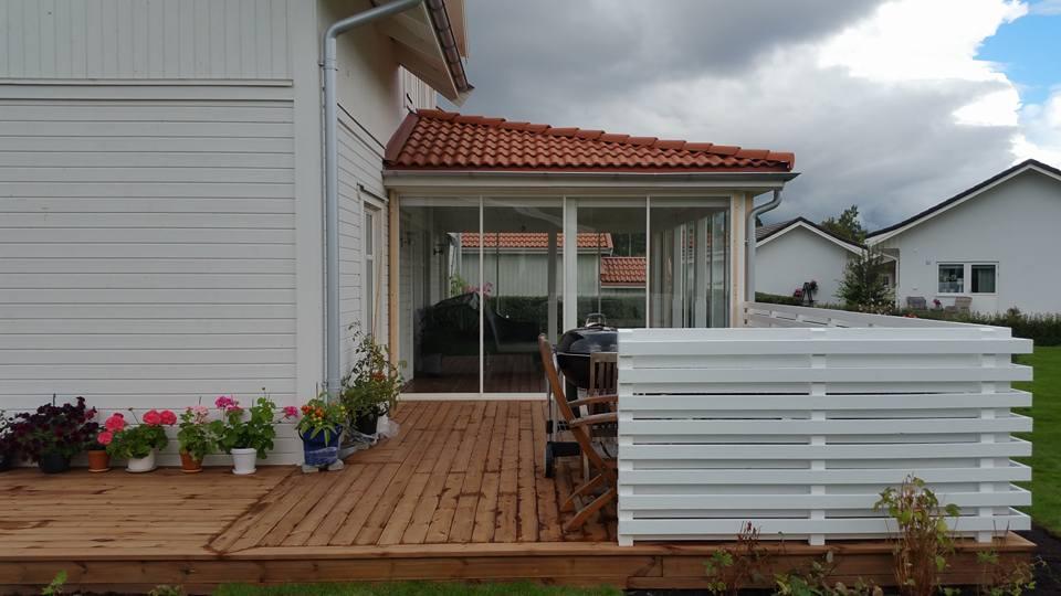 """Referensjobb """"-"""" utfört av Glas & Bygg i Borlänge AB"""