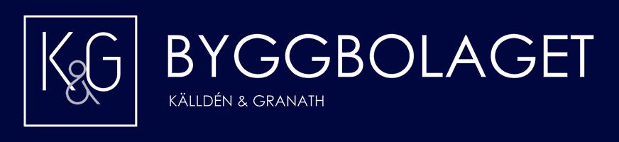 Logotyp för Byggbolaget Källden & Granath AB