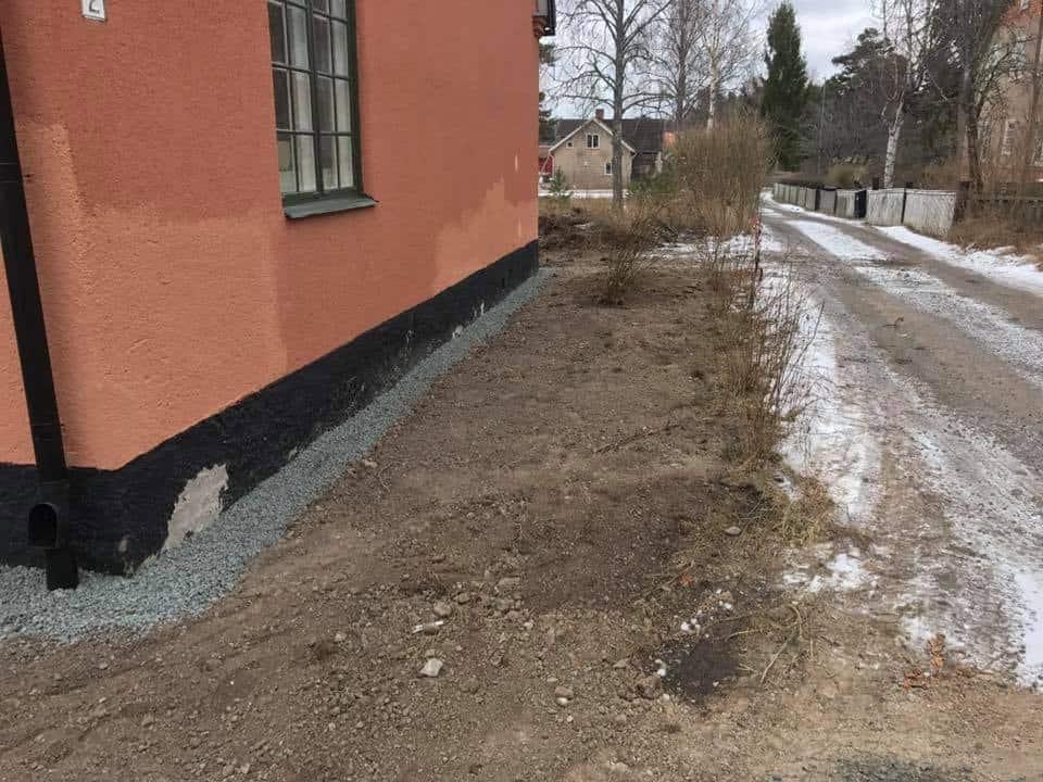 """Referensjobb """"Grundisolering på Skolvägen i Hargshamn"""" utfört av PA04 AB"""