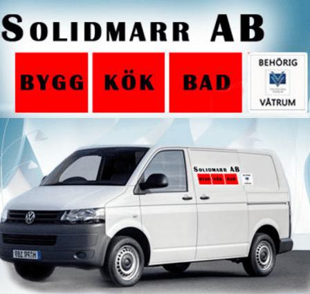 Logotyp för Solidmarr AB