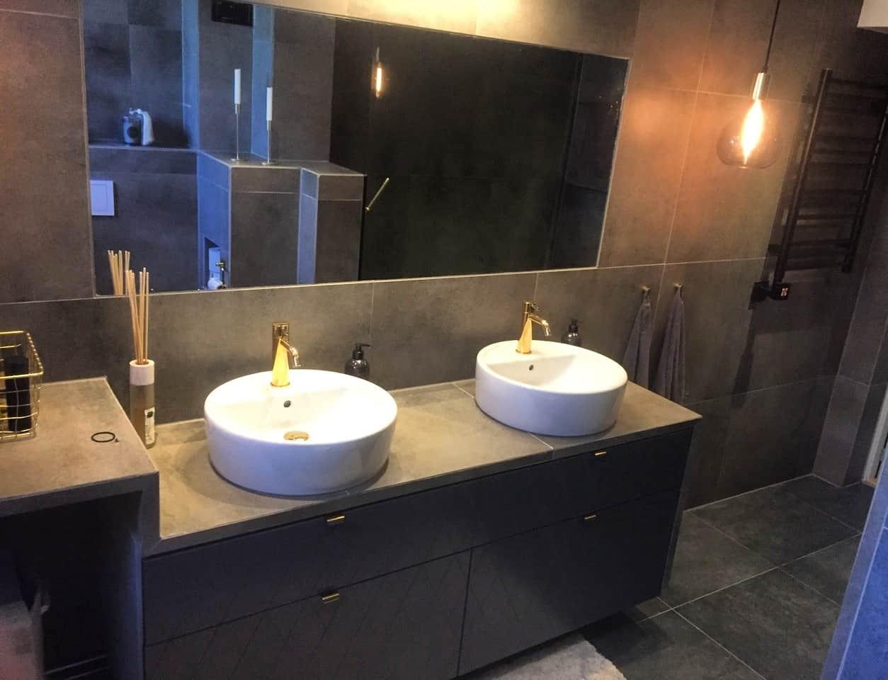 """Referensjobb """"badrumsrenovering"""" utfört av Smartcon Byggservice AB"""