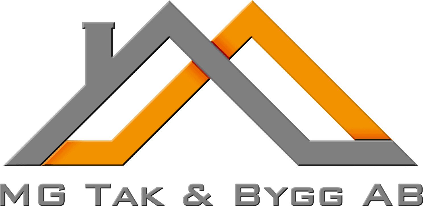 Logotyp för MG Tak & Bygg AB