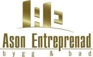Logotyp för ASONAB Entreprenad Bygg & Bad