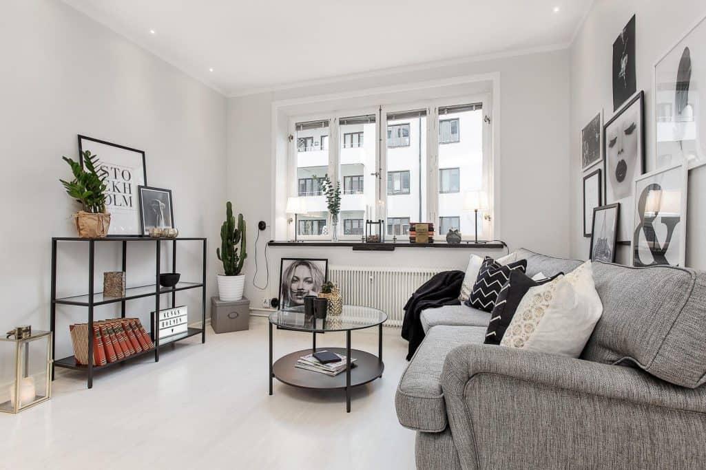 """Referensjobb """"Totalrenovering av lägenhet på Kungsholmen"""" utfört av ASONAB Entreprenad Bygg & Bad"""