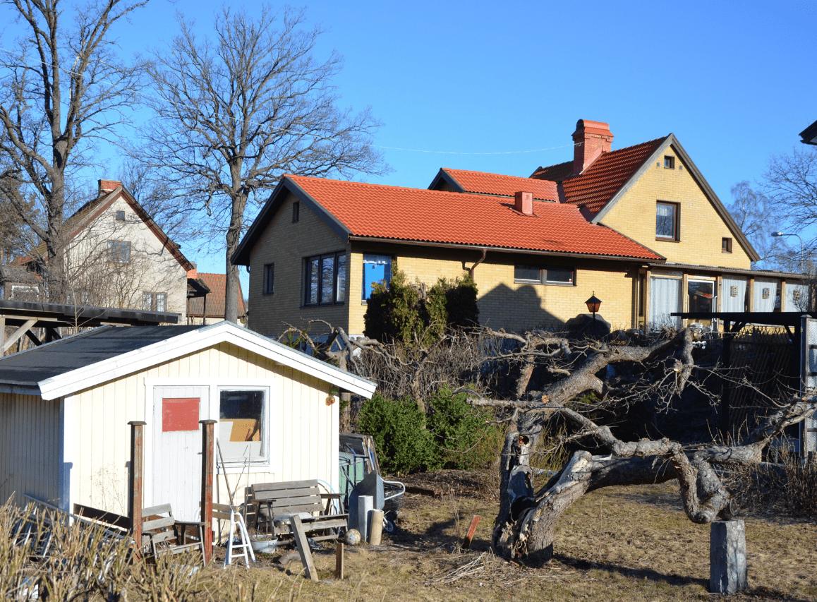 """Referensjobb """"Tak i Älvsjö."""" utfört av Hedins Tak AB"""