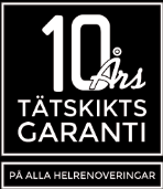 """Referensjobb """"10 års garanti. """" utfört av Hedins Tak AB"""