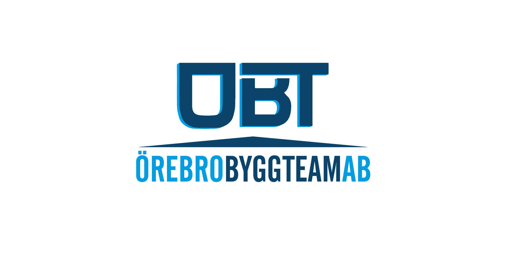 Logotyp för OBT Örebro ByggTeam AB
