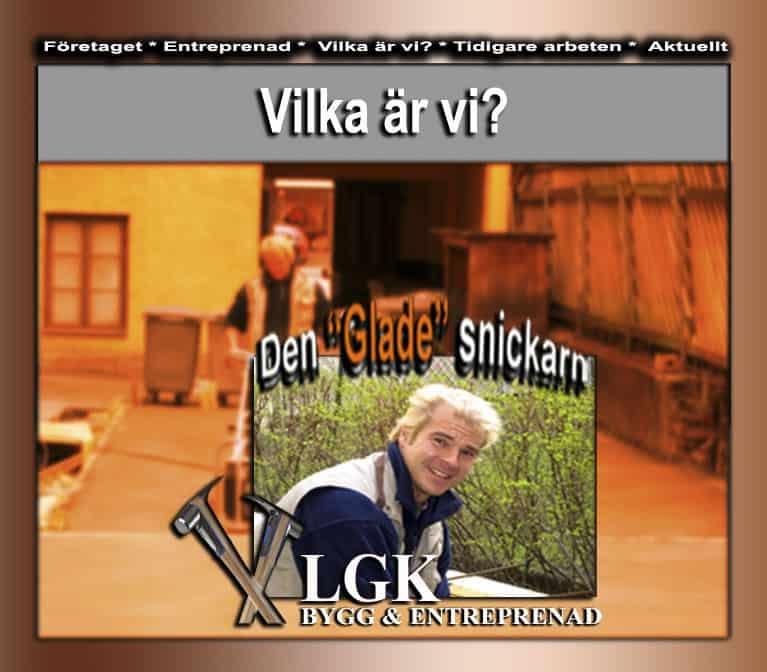 Logotyp för LGK Bygg & Entreprenad
