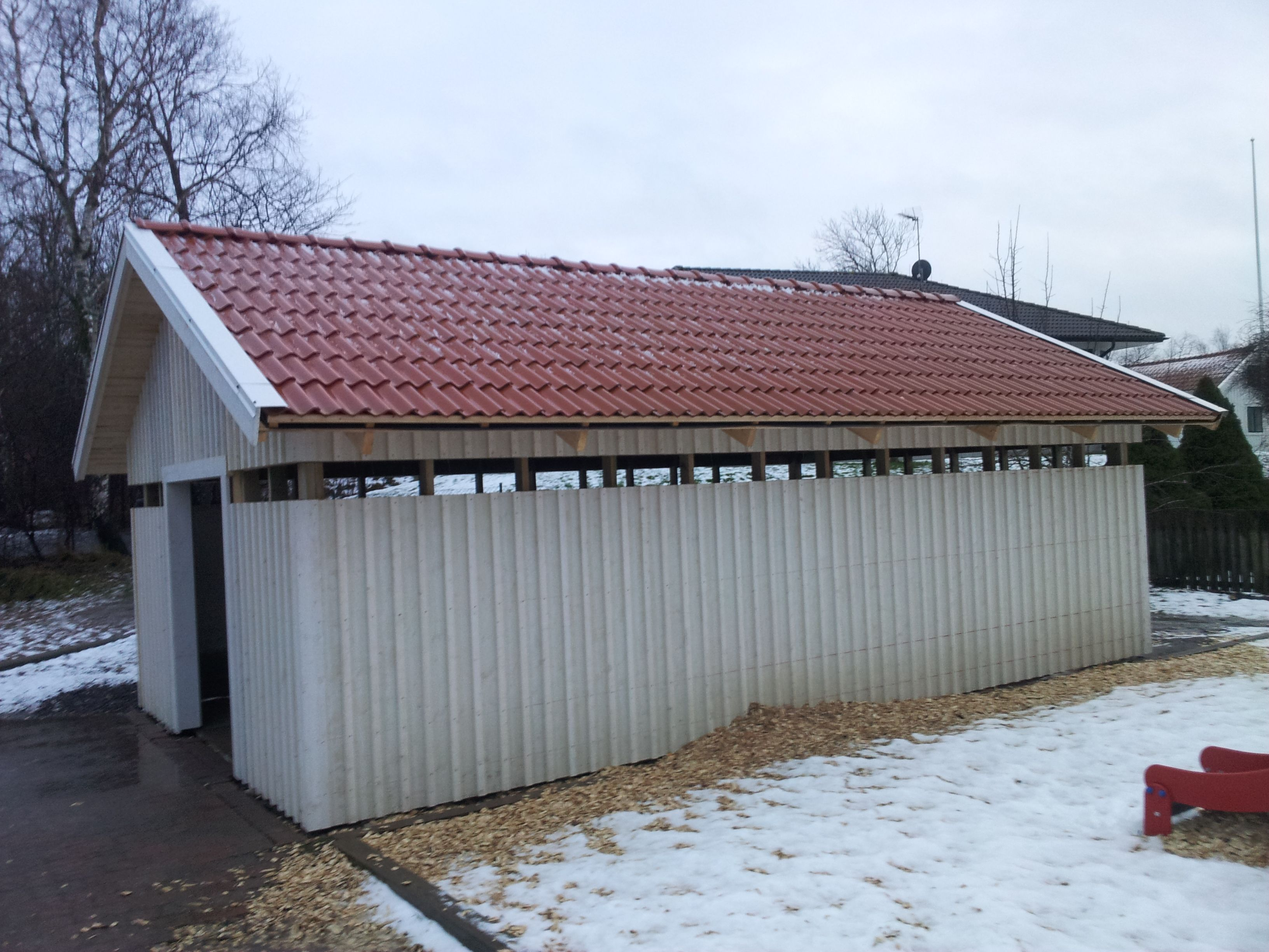 "Referensjobb ""samlingshus"" utfört av LGK Bygg & Entreprenad"