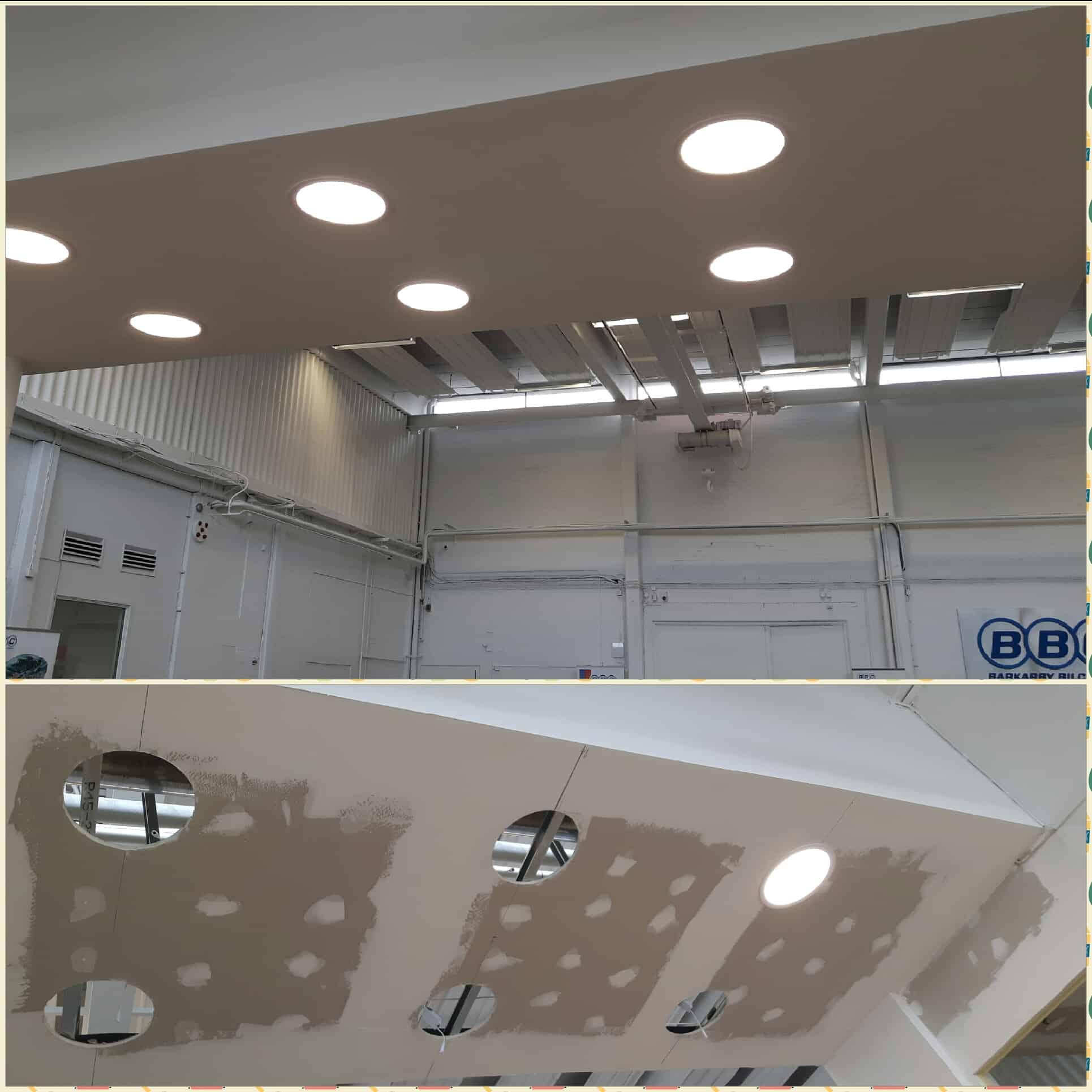 "Referensjobb ""Ny LED belysning."" utfört av Effektiv C&R AB"