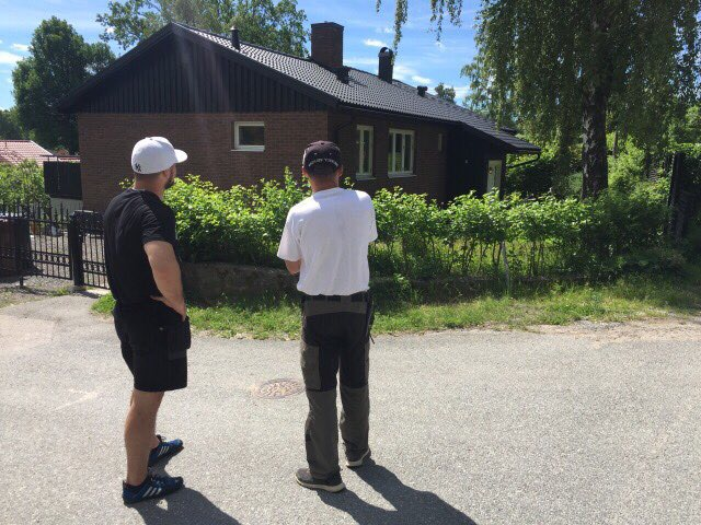 "Referensjobb ""Ejdervägen 16"" utfört av Nytt Tak i Sthlm AB"