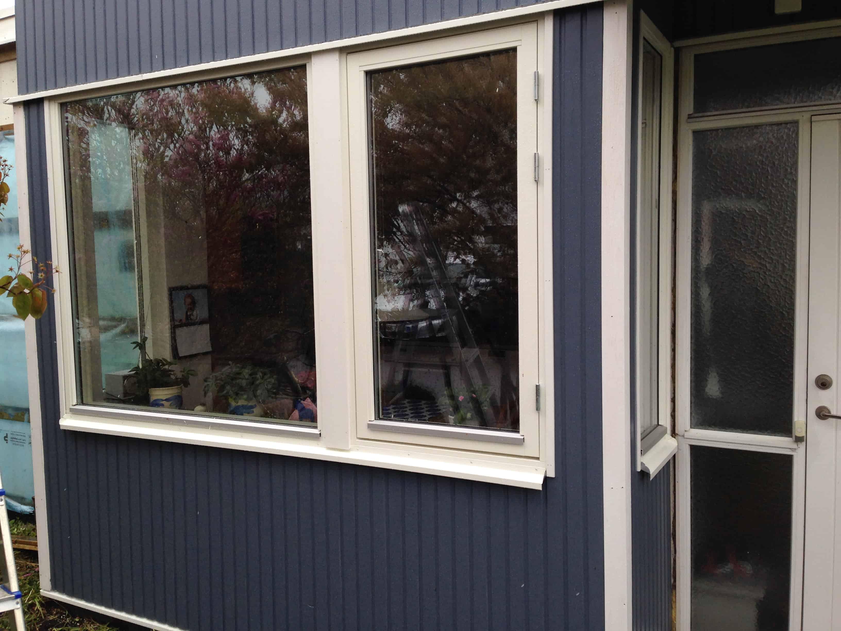"""Referensjobb """"Fasadrenovering"""" utfört av PP Renovering & Bygg AB"""