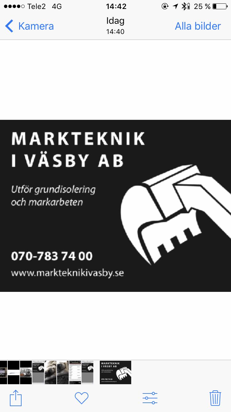Logotyp för Markteknik i Väsby AB