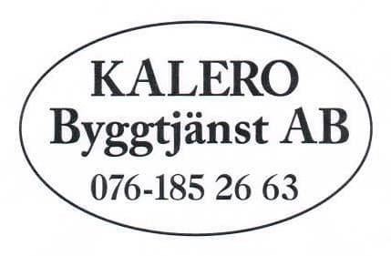 Logotyp för KALERO Byggtjänst AB