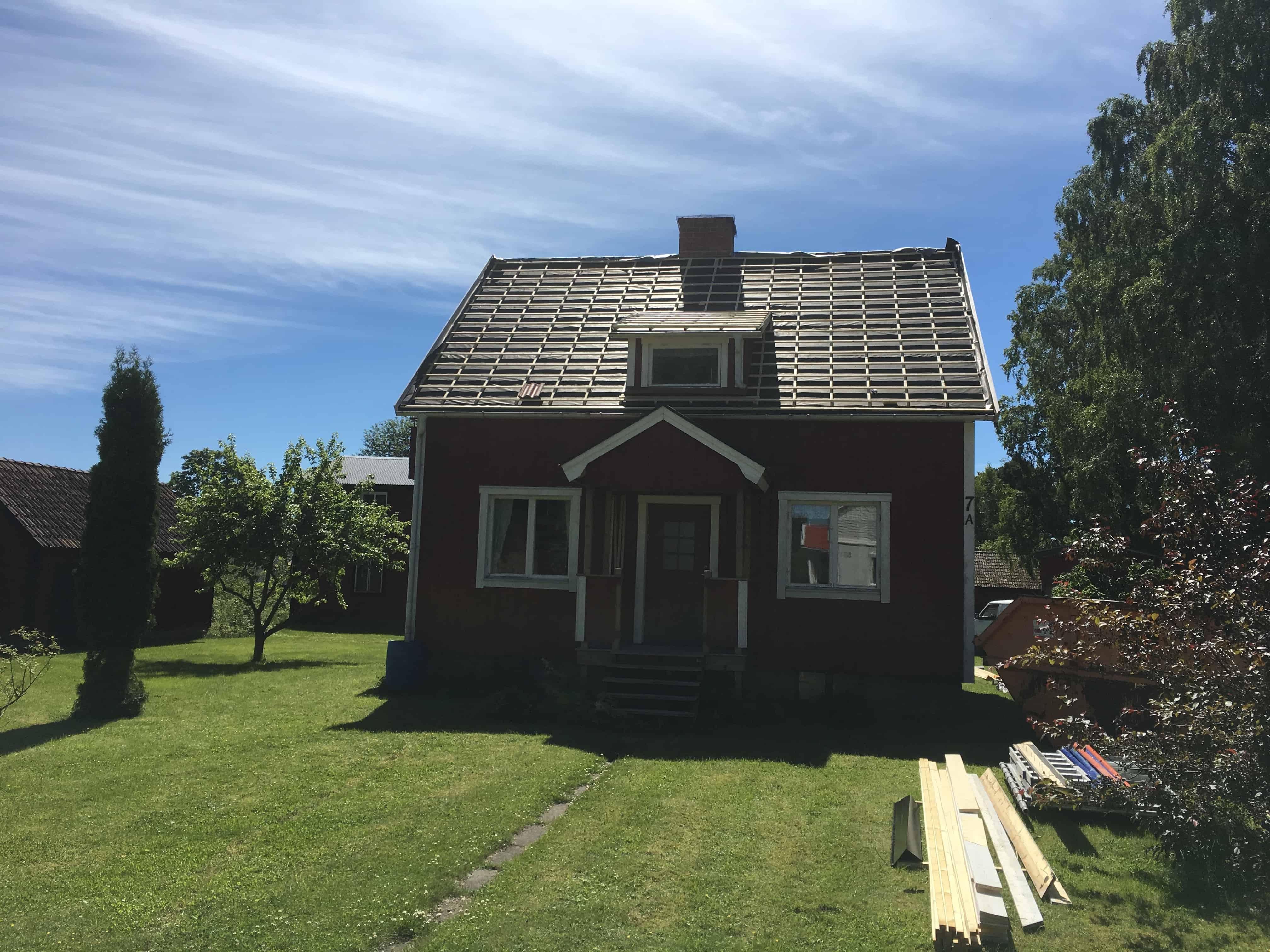 """Referensjobb """"Björklinge"""" utfört av LS Tak Sverige AB"""