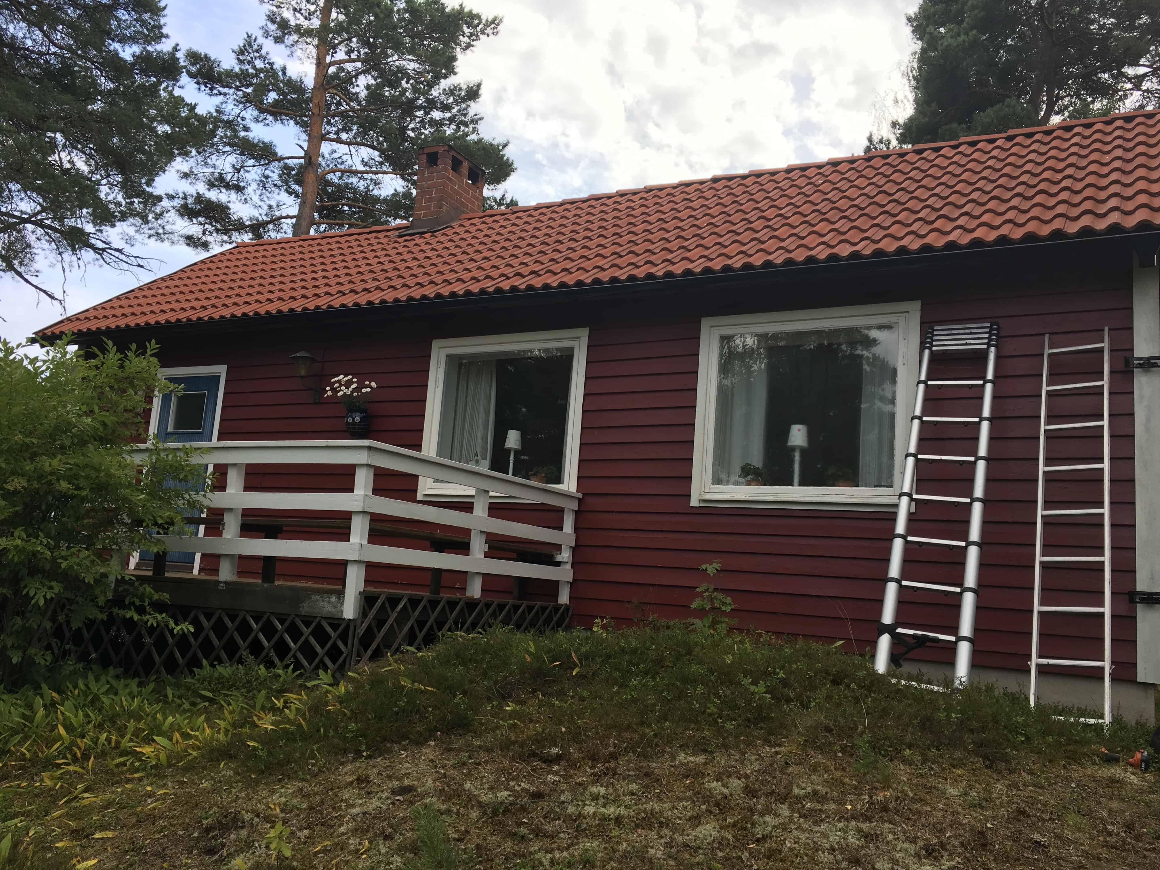 """Referensjobb """"Taktvätt"""" utfört av LS Tak Sverige AB"""