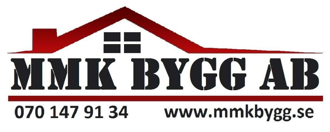 Logotyp för MMK bygg AB