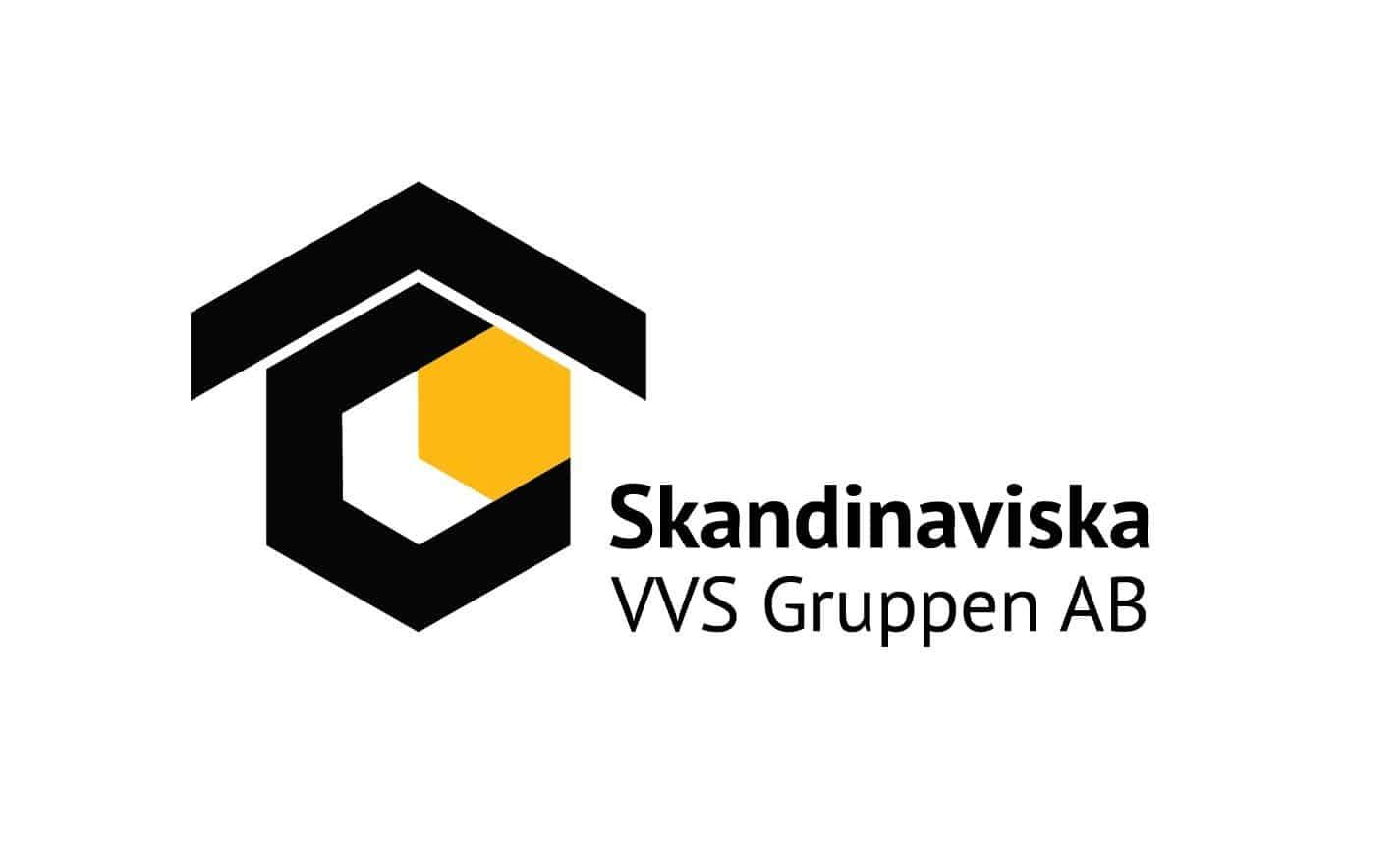 Logotyp för Skandinaviska VVS - Gruppen AB