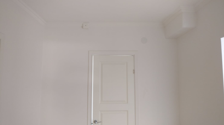 """Referensjobb """"Lägenhet norra Stockholm"""" utfört av Järvastadens Måleri AB"""