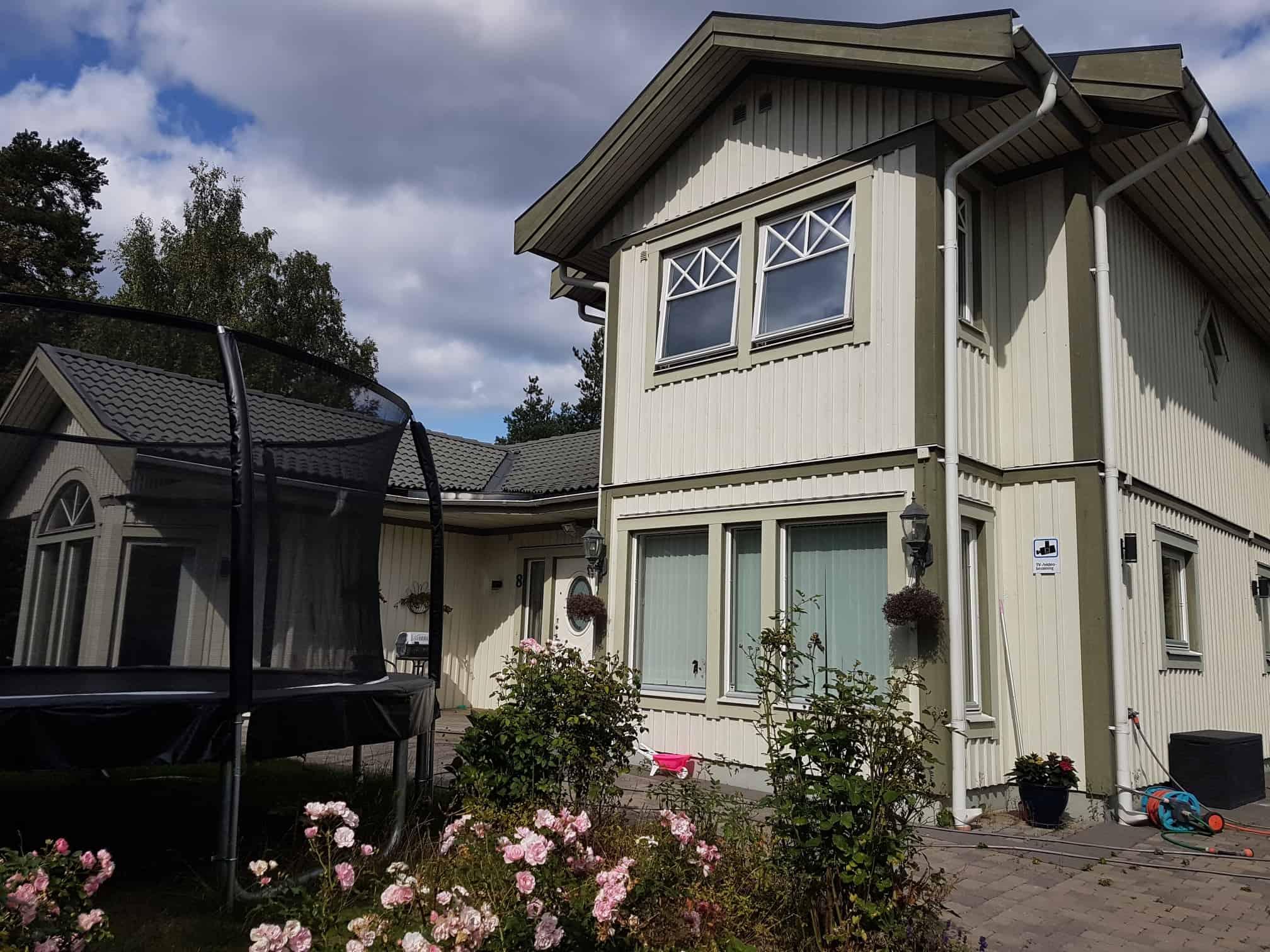 """Referensjobb """" Nytt hus, 1,5 plans Villa, Segeltorp"""" utfört av RITARCADER"""