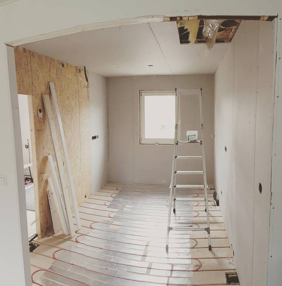 """Referensjobb """"Renovering"""" utfört av Amfrebo Bygg"""