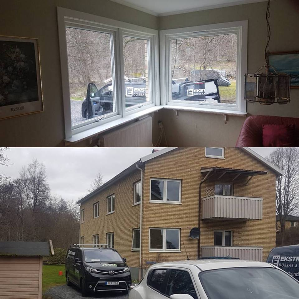 """Referensjobb """"Nya fönster"""" utfört av Amfrebo Bygg"""