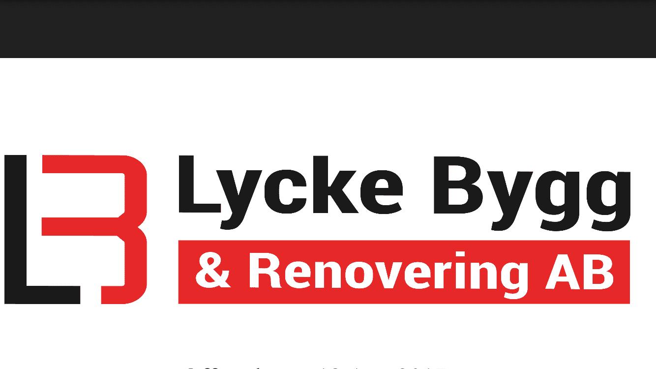 Logotyp för Lycke Bygg & Renovering AB