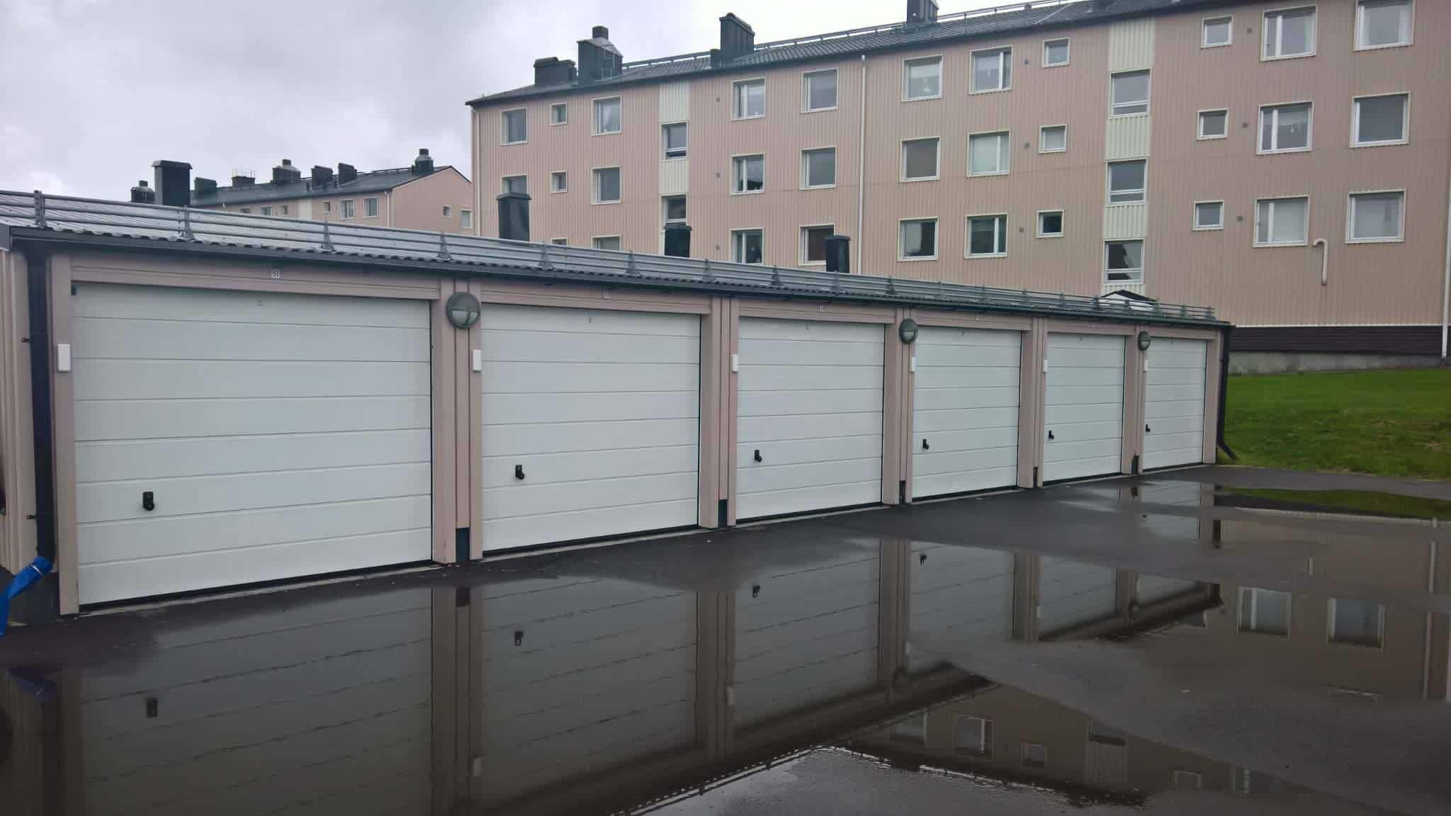 """Referensjobb """"Garage"""" utfört av Ingvalds Bygg & Betong AB"""