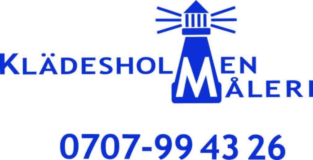 Logotyp för Klädesholmens Måleri