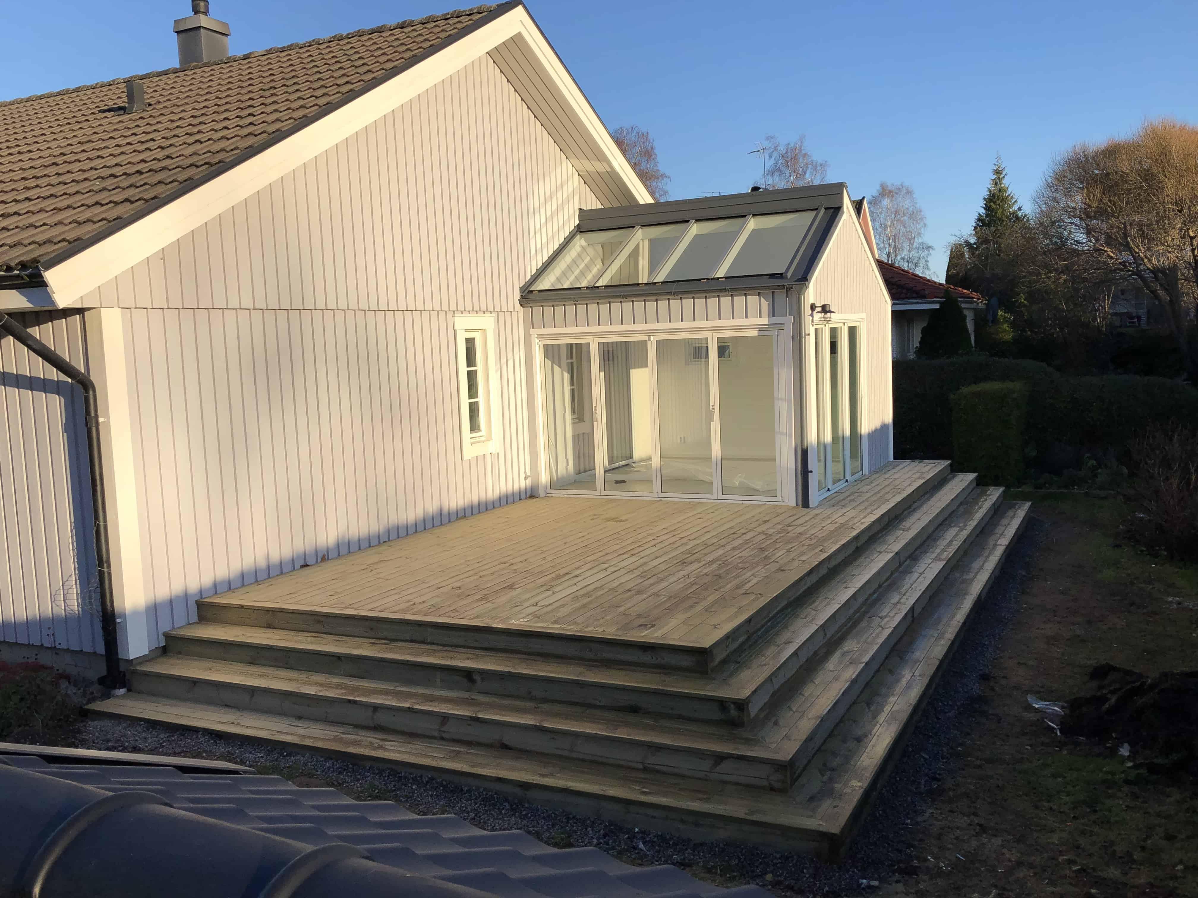"""Referensjobb """"Uterum"""" utfört av Nie bygg i Tierp AB"""