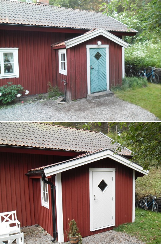 """Referensjobb """"Ombyggnation av veranda och hus målning"""" utfört av Arnito Bygg och Måleri AB"""