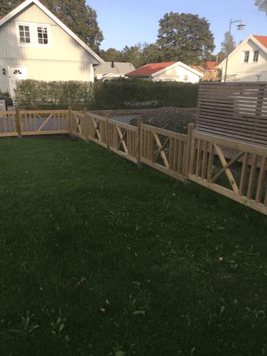 """Referensjobb """"UPPFÖRANDE AV STAKET"""" utfört av RKS Mark & Trädgård AB"""