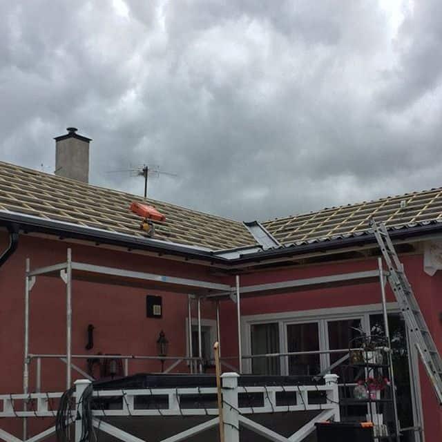 """Referensjobb """"Takrenovering"""" utfört av Tom Andersson Bygg Aktiebolag"""